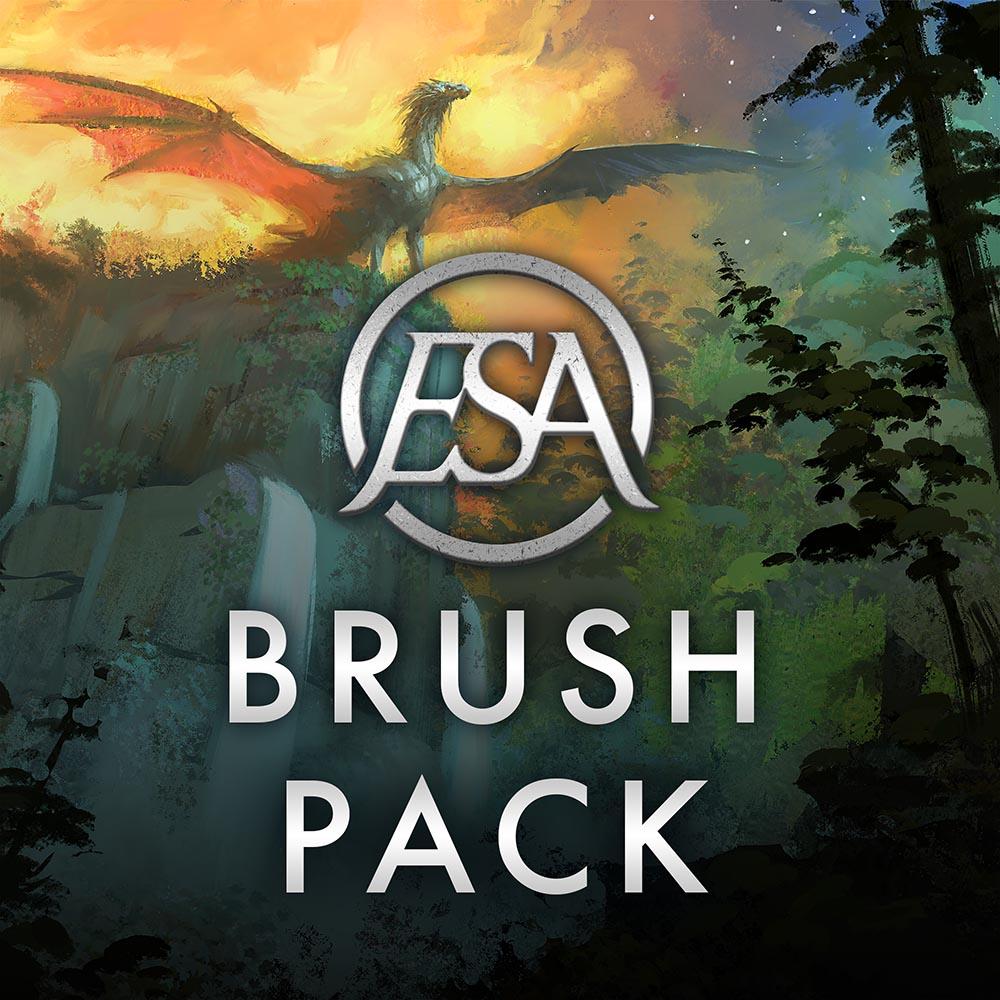 ESA Digital Art Brush Pack