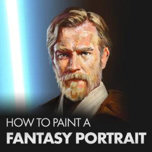 Fantasy Portrait Digital Painting Tutorial
